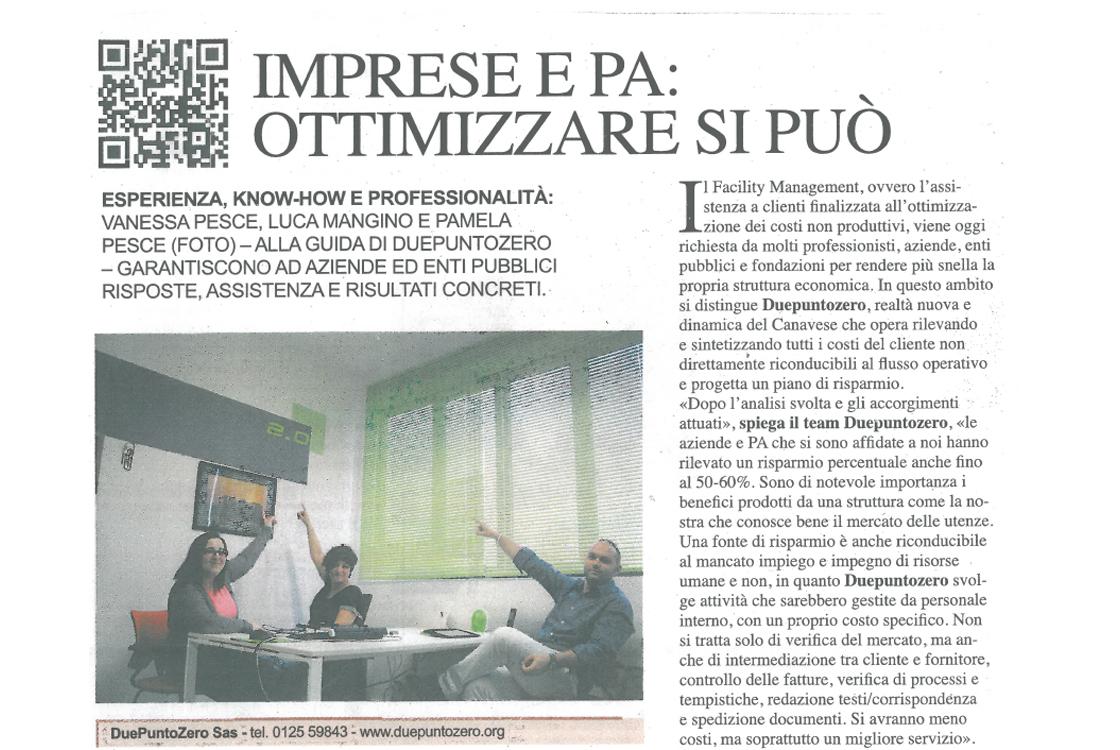 "E=Economia ""Companies and Public Administration, optimizing is possible"""